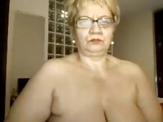 Granny excites with sex online...