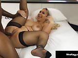 Hot Nympho Nina Kayy Is Mega Buttfucked By A Big Black Cock!