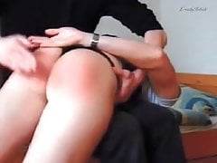 Clip 07An - Pull Her Skirt Up And Spank Her OTK