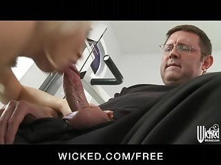 Wicked - HOT blonde MILF Madison Ivy gets some hard dick