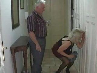 Sexy Teen fucks with older Couple