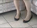 Sexy Low-Cut Ballet Flats