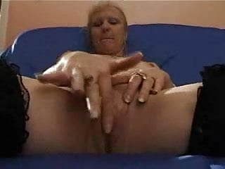 french shaved blonde granny pt2
