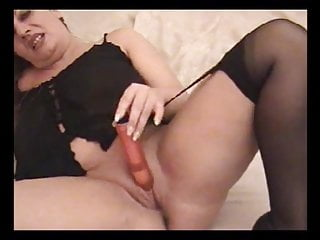 mature lady in lingerie masturbating with dildoHD Sex Videos
