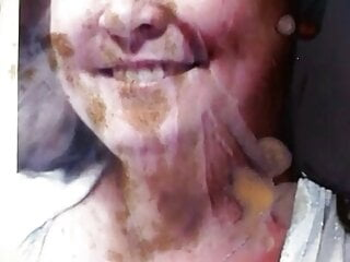 Cumtribute request for bbw
