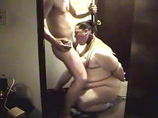 Bbw head 63 submissive fatty wearing collar deepthroat...