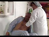 BBW Nurse Ass Creampie