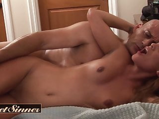 Dirty old man fucks small tit stepdaughter Melanie Rios
