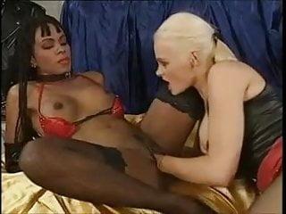 Black girl double penetrated...
