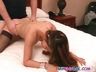 Pussy spread wide open...