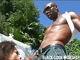 Two big black cocks are going to make me scream