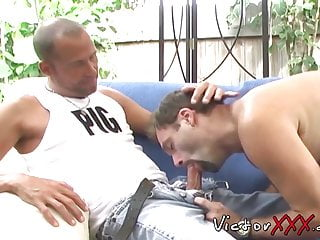 Older studs hook up and do some rimming...