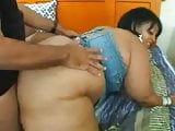 Big Fat Black Mom Fucked