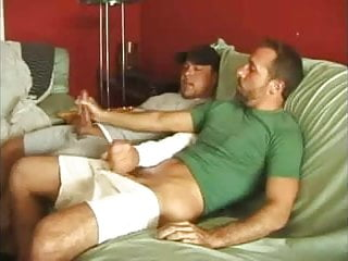 Amateur jerking each other off...