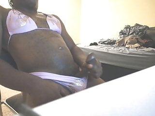 cumshot in my pink bikiniHD Sex Videos