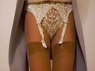 Lace Suspender Belt and Panties
