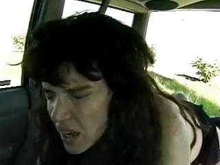 Hairy Cunted Car Fuckin'