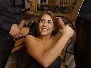 Jennifer Stone fetish 3some
