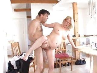 hot german mom vs cock