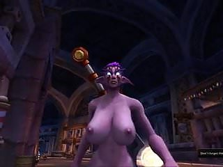 Nightelf tits in slow motion...