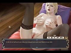 MilkyTouch-Blonde Slut Masturbate