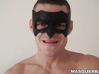 Jock max dior masturbates solo...