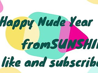 'sunshine' happy nude year 2020HD Sex Videos