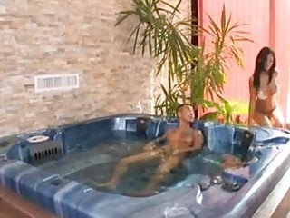 Fucked in jacuzzi by asian guy...