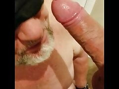 Anonymous daddy sucks my cock