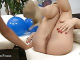 Massive Titty Blonde Sucks And Rides A Giant Cock!