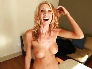 Slender mature makes porn video...