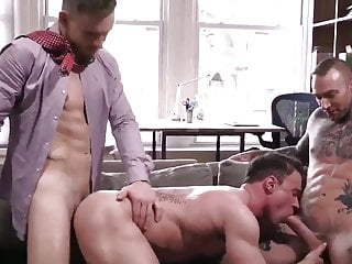 muscled threesomes
