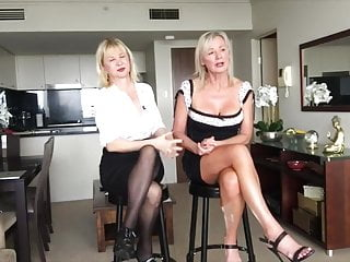 two old girl upskirt areolas and crossed legs one video 2