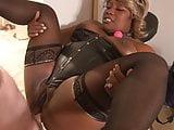 Mature Big Tit Ebony BBW Anal Abused