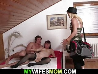 Hot girlfriends toying herselft before taboo sex...
