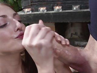 Katy Rose meets George's thick cock