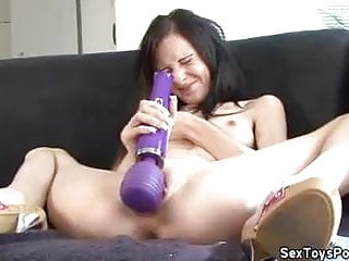 Vibrator for small tit jade...