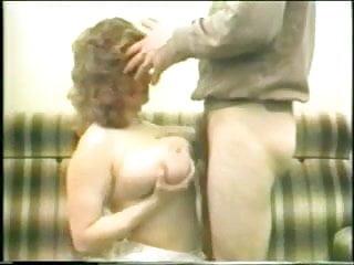 Busty MILF oral sex