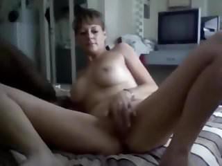 Homemade milf sex tape cock bbc fucked bedroom...