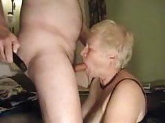 Even old granny's still love to suck cock