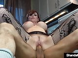 Hot Homemaker Shanda Fay Fucks Her Husband In The Kitchen!