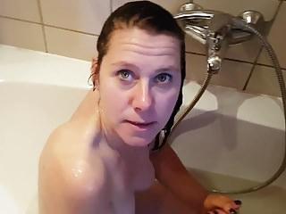 Der Badezimmer Besuch