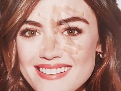 Cumtribute Lucy Hale 3
