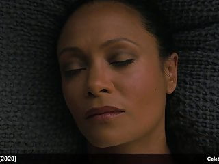 Thandie newton nude frontal scenes from westworld...