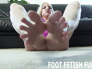 My pretty pink toes will get your cock rock hard