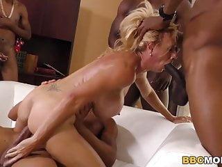 Blonde Bbc Gang Bang