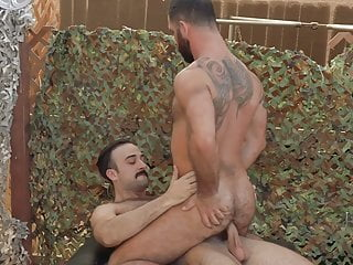 Mason Lear and Jake Nicola are having rough anal sex