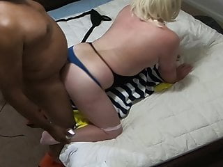 HOT IR Fuck – BBC Climbs on White CD Gives Creampie