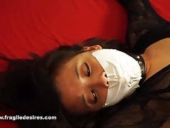 Fragiledesires Microfoam Tape Gagged with Vibrator