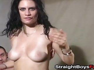 pounding pussy slutty in threesome babes guys wild AMateur